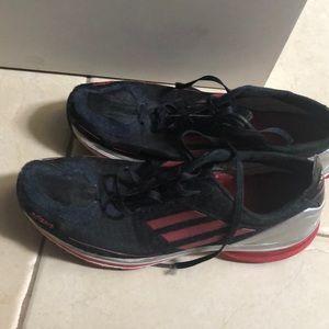 Adidas 8 1/2 running shoes